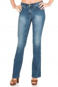 Lois Jeans | Flared jeans Melrose lengtemaat 32 | blauw  | Afbeelding 2
