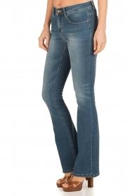 Lois Jeans | Flared jeans Melrose lengtemaat 32 | blauw  | Afbeelding 4