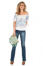Lois Jeans | Flared jeans Melrose lengtemaat 32 | blauw  | Afbeelding 3