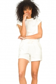 Set |  Cotton sleeveless sweater Bey | natural  | Picture 4