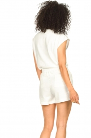 Set |  Cotton sleeveless sweater Bey | natural  | Picture 6