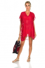 Hipanema |  Caftan Kasey | red  | Picture 7