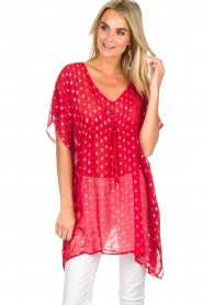 Hipanema |  Caftan Kasey | red  | Picture 4