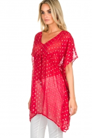 Hipanema |  Caftan Kasey | red  | Picture 5
