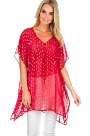 Hipanema |  Caftan Kasey | red  | Picture 2