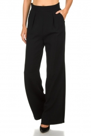 Atos Lombardini |  Flared trousers Mitzi | black  | Picture 3