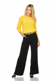 Atos Lombardini |  Flared trousers Mitzi | black  | Picture 2