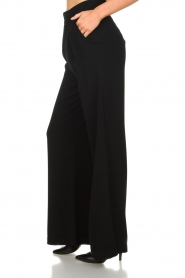 Atos Lombardini |  Flared trousers Mitzi | black  | Picture 4
