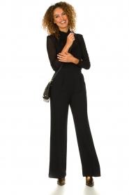 Atos Lombardini |  Flared trousers Mitzi | black  | Picture 6
