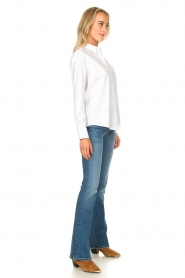 Set |  Basic blouse with pocket Essenza | white  | Picture 3