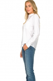 Set |  Basic blouse with pocket Essenza | white  | Picture 5