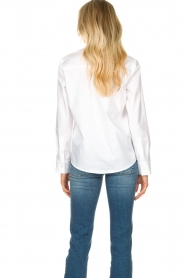 Set |  Basic blouse with pocket Essenza | white  | Picture 7