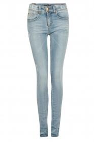 Lois Jeans | Mid rise skinny jeans Berta lengtemaat 34 | blauw  | Afbeelding 1