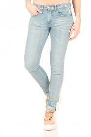 Lois Jeans | Mid rise skinny jeans Berta lengtemaat 34 | blauw  | Afbeelding 2