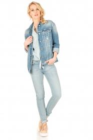 Lois Jeans | Mid rise skinny jeans Berta lengtemaat 34 | blauw  | Afbeelding 3