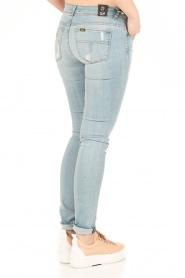 Lois Jeans | Mid rise skinny jeans Berta lengtemaat 34 | blauw  | Afbeelding 5