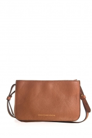 Smaak Amsterdam | Leather shoulder bag Lucas | brown  | Picture 4