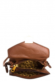 Smaak Amsterdam | Leather shoulder bag Lucas | brown  | Picture 5