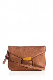 Smaak Amsterdam | Leather shoulder bag Lucas | brown  | Picture 1