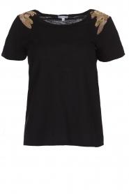Hipanema | T-shirt Tanguy | zwart  | Afbeelding 1