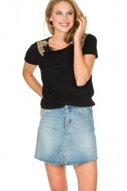 Hipanema | T-shirt Tanguy | zwart  | Afbeelding 4