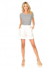 Set |  Striped T-shirt Beau | blue  | Picture 3