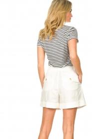 Set |  Striped T-shirt Beau | blue  | Picture 5