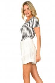 Set |  Striped T-shirt Beau | blue  | Picture 4