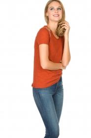 Hipanema   T-shirt Tanguy   bruin    Afbeelding 3
