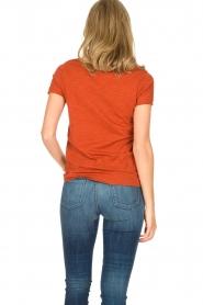 Hipanema   T-shirt Tanguy   bruin    Afbeelding 4
