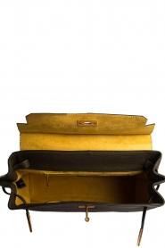 Smaak Amsterdam |  Leather handbag Jenna big | green  | Picture 5