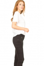 Set |  Basic T-shirt with imprint Vale | white  | Picture 6