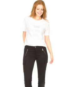 Set |  Basic T-shirt with imprint Vale | white  | Picture 4