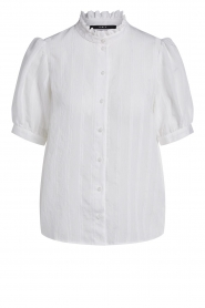 Set |  See-through blouse Daine | white  | Picture 1