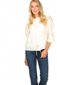 Set    Blouse with drawstring Stradia   natural    Picture 4