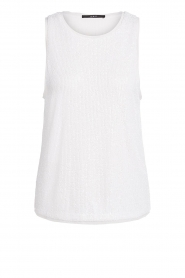 Set |  Top with sequins Senna | white  | Picture 1