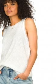 Set |  Top with sequins Senna | white  | Picture 8