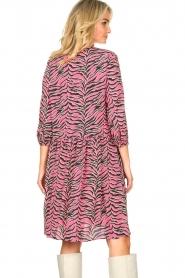 Set |  Zebra print dress Polly | pink  | Picture 7
