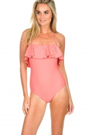 Hipanema |  Swimsuit Martine | pink  | Picture 2