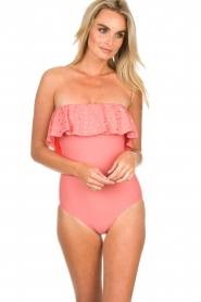 Hipanema |  Swimsuit Martine | pink  | Picture 6