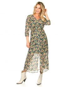Set |  Printed maxi dress Chantell | multi  | Picture 3