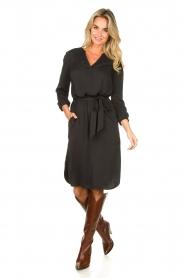 Set |  Modal dress Ivy | black  | Picture 3
