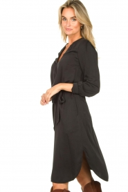 Set |  Modal dress Ivy | black  | Picture 5