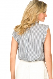 Set |  Striped top Honey | blue  | Picture 8