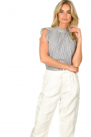 Set |  Striped top Honey | blue  | Picture 5