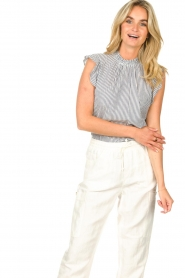 Set |  Striped top Honey | blue  | Picture 4