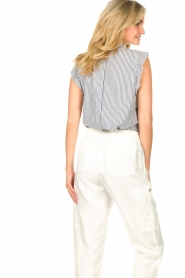 Set |  Striped top Honey | blue  | Picture 7