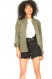 Set |  Utility jacket Maan | green  | Picture 4