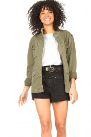 Set |  Utility jacket Maan | green  | Picture 2