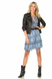 Set |  Skirt with tie dye print Ysa | blue  | Picture 3